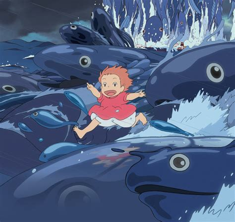Studio Ghibli Movies by The Plot Of Ponyo As Told By A Cool Cat Domestic Sanity