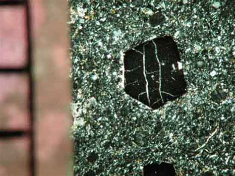 sodalite in thin section nosean
