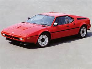 Bmw E26 1978 Bmw M1 E26 Related Infomation Specifications Weili