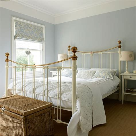 pale blue and cream bedroom housetohome co uk