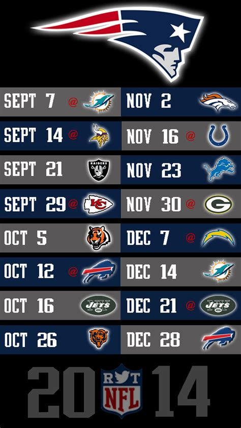 wallpaper iphone 5 nfl 2014 nfl schedule wallpapers for iphone 5 nflrt