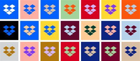 dropbox branding brand identity dropbox colorful new look