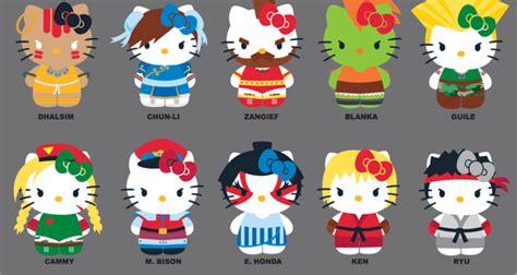Figure Hello Crossover Sanrio Costume Set 4 official capcom