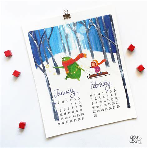 calendar by design 50 absolutely beautiful 2016 calendar designs hongkiat