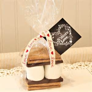 S Mores Kits Wedding Favors by S Mores Favor Kit 12 S More Favor Kits S More