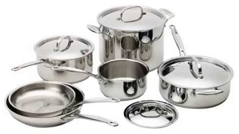 cuisinart 77 10 chef s classic stainless 10 cookware