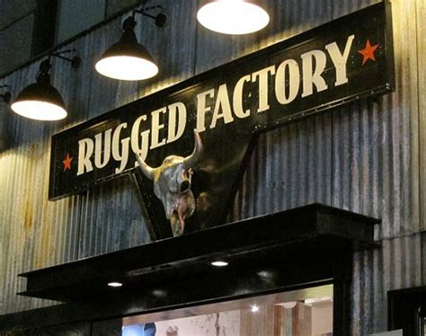 rugged factory loja conceito rugged factory