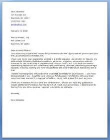 Attorney Cover Letters by Cover Letter Resume Downloads