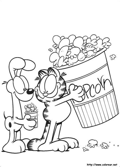 imagenes para colorear miercoles de ceniza dibujos para colorear de garfield