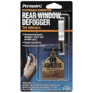 Permatex 21351 rear window defogger tab adhesive each walmart com