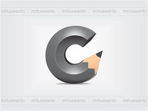 design a logo using corel draw tutorial cara membuat logo 3d pensil dengan coreldraw x7