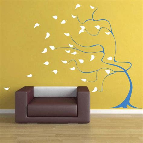trendy wall designs windy tree wall art design trendy wall designs