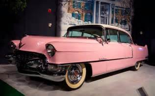 Elvis Pink Cadillac Elvis S Pink Cadillac Rocks Up In