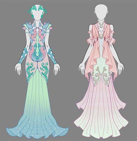 design clothes girl open 1 2 dress adopt auction by onavici deviantart com