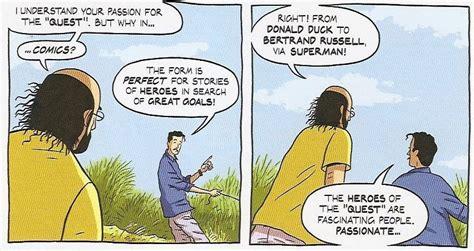 Buku Seri Pembuatan Komik Tintin Abdallah logicomix komik baik buatmu