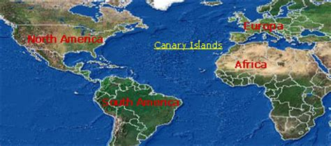 where is tenerife on world map canary islands world map factsofbelgium