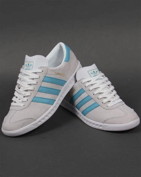 Adidas Hamburg Ori adidas hamburg trainers white blanch sky originals mens shoes