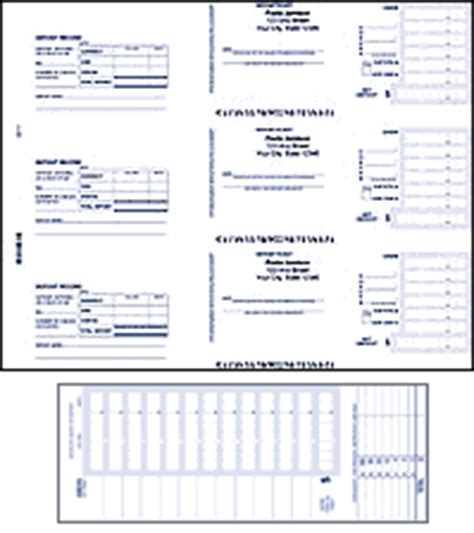 Desk Checks 3 Per Page by 3 Per Page Desk Deposit Tickets Checks In The Mail