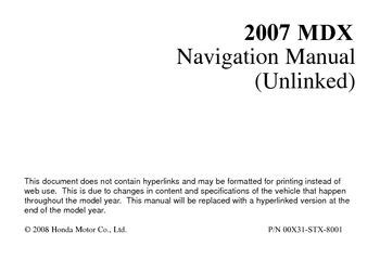 download car manuals pdf free 2008 acura mdx engine control download 2007 acura mdx navigation manual pdf 166 pages