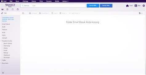 cara membuat e mail yahoo baru cara membuat email baru yahoo indonesia terbaru espada blog