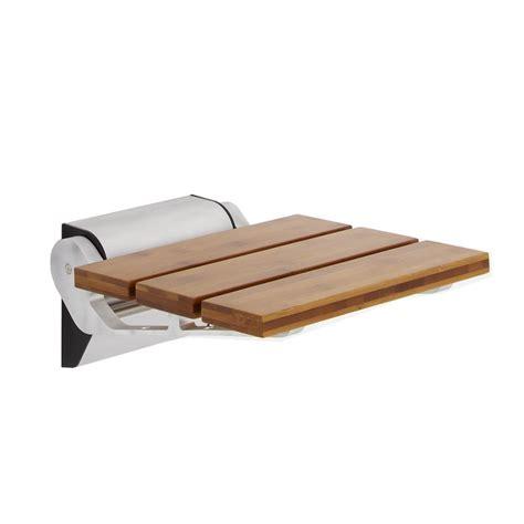 shower bench bamboo bamboo folding shower seat narrow base