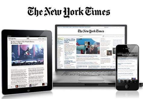 mobile nytimes the new york times goes digital geeky gadgets