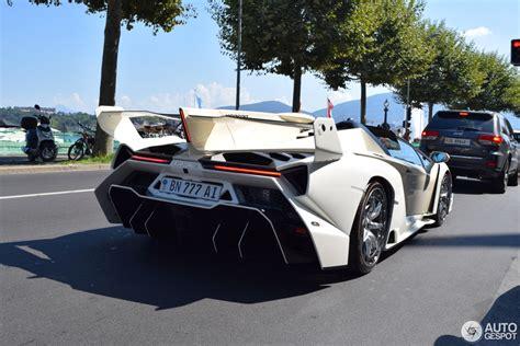 Lamborghini Roadster Veneno by Lamborghini Veneno Roadster 2 November 2015 Autogespot