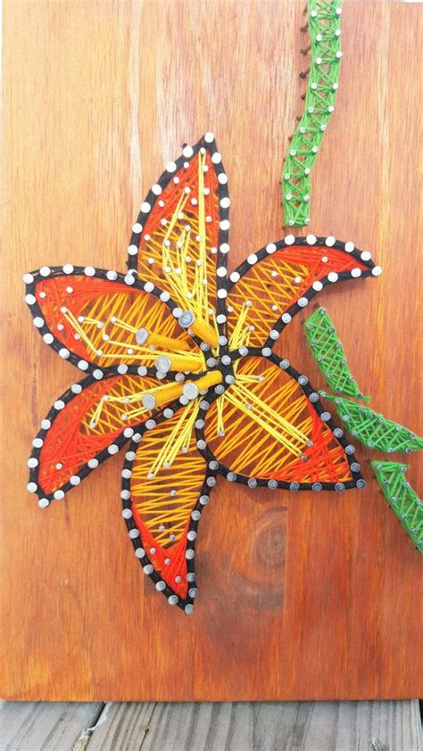 home decor and gifts new string art daisy flower wall decor i spring decor i flower string art i