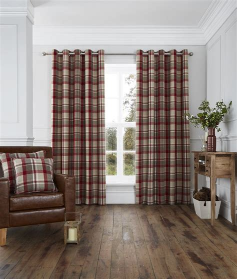 red checked curtains 17 best ideas about contemporary eyelet curtains on