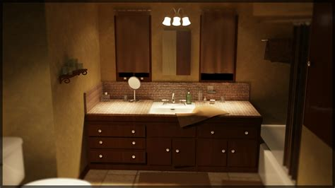 nuanced of bathroom concept feat appealing lighting