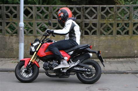 125er Motorrad Mit Abs by Honda Msx 125 Schon Gefahren Schon Gefahren Motorrad
