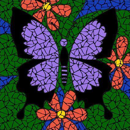 pattern for butterfly jasmine paper flower best 25 butterfly mosaic ideas on pinterest mosaic art