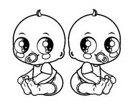 ver imgenes de chambritas de estambres para bebes coloriage de b 233 b 233 s jumeaux pour colorier coloritou com