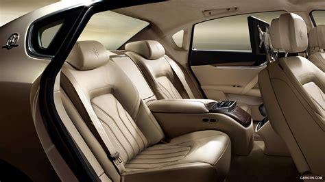 maserati levante interior back seat maserati quattroporte gts interior image 88