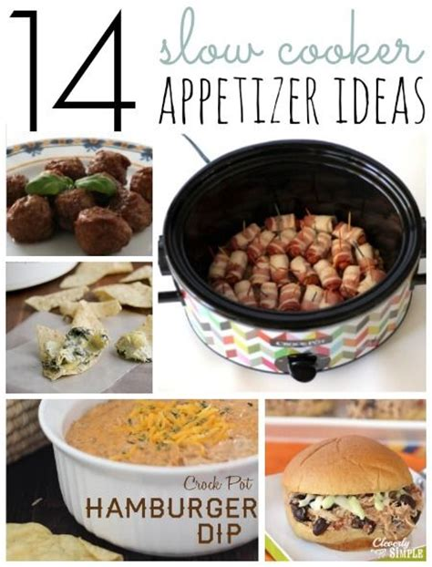 14 crockpot appetizer recipes the o jays appetizer recipes and crockpot