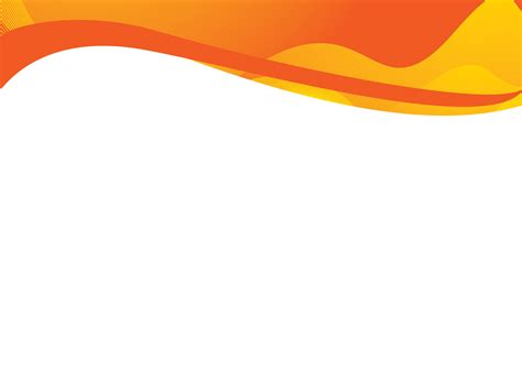 Orange Waves Powerpoint Templates Abstract Orange Yellow Free Ppt Backgrounds And Templates Orange Powerpoint Template