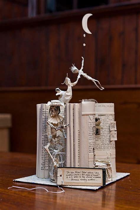 cool book sculptures  inspiration hative
