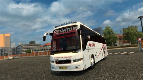 volvo truck bus volvo b9r i shift with passengers v1 0 bus mod ets2 mod