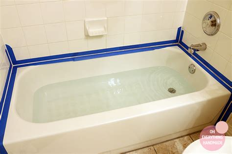 caulking tape for bathtub how to re caulk a bathtub