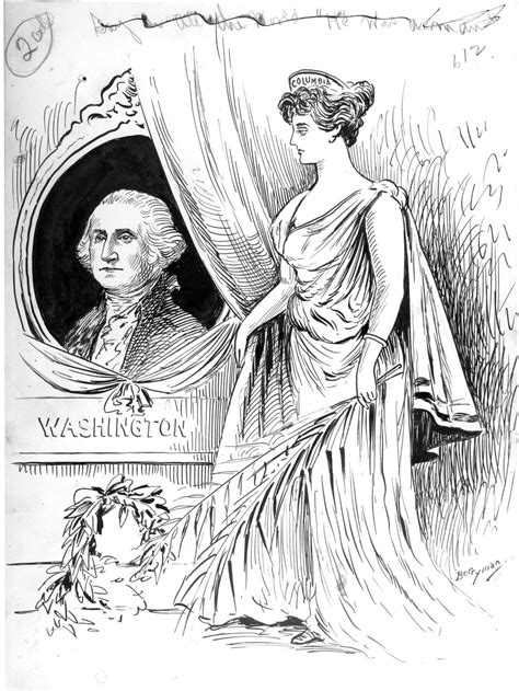 george washington political cartoon today s document congressarchives political cartoonist