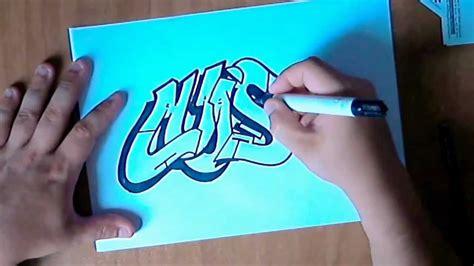 imagenes que digan luis graffiti paso a paso dibujando un graffiti parte 1 by