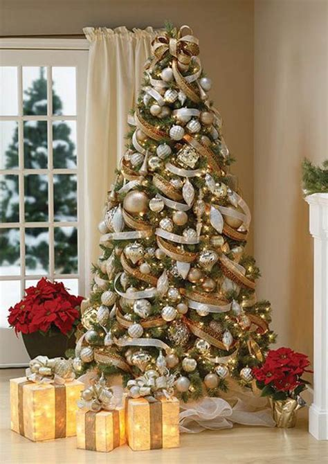 home decorated christmas trees most beautiful christmas tree decorations ideas