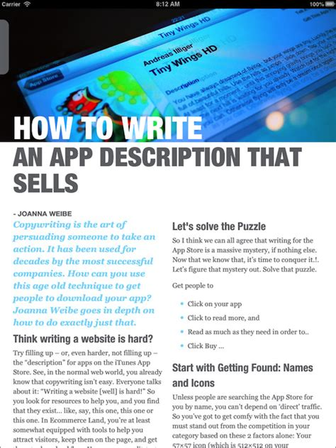 app design vault coupon appville ipad magazine for ios developers by app
