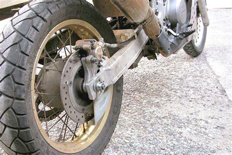 Motorrad Hinterrad Umbau by Transalp Seite Umbauten At Schwinge