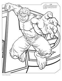 free printable hulk coloring pages kids