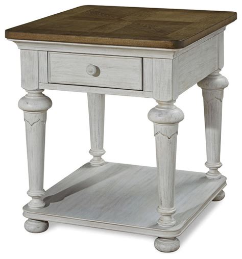 paula deen end table paula deen home dogwood end table blossom traditional