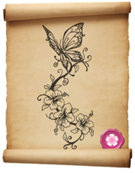 tatuaggi rami fiori pin lupo fiore calma forza interiore fiducia fedelt 195