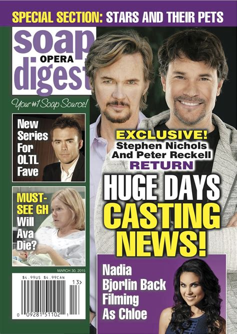 peter reckell coming back to days exclusive stephen nichols and peter reckell back to days
