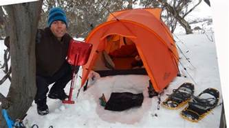 Snow Cornice Snow Camping Tips And Tricks Youtube