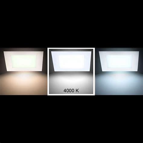 decken panele 6er set led panele decken und wandmontage vt 307 len
